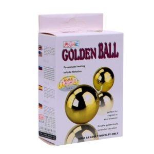 Golden Ball + Vibrador